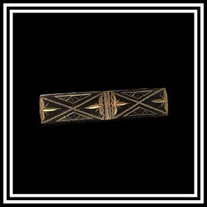 Vtg. Art Nouveau metal pin